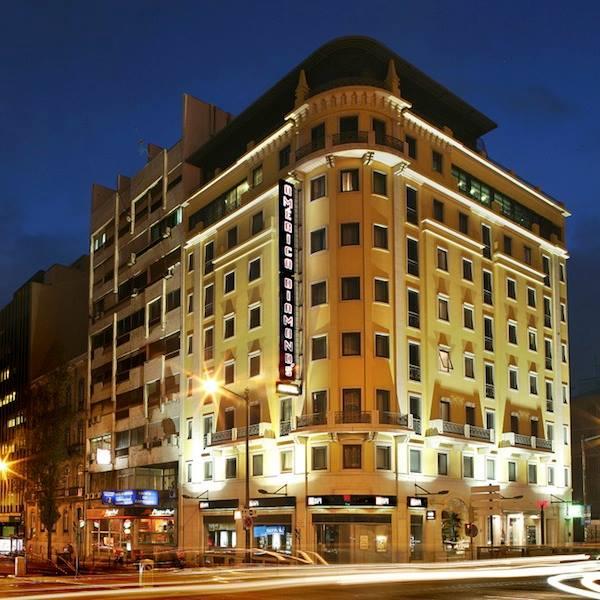 O HOTEL E A CIDADE